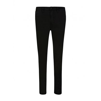 Black Slim Adam Chinos