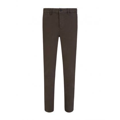 Green Clash Slim Fit Chinos