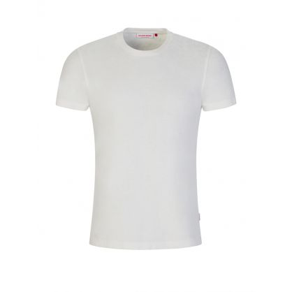 White Sammy X Towelling T-Shirt