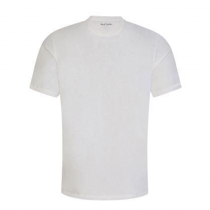 White Brush Stroke Pocket T-Shirt