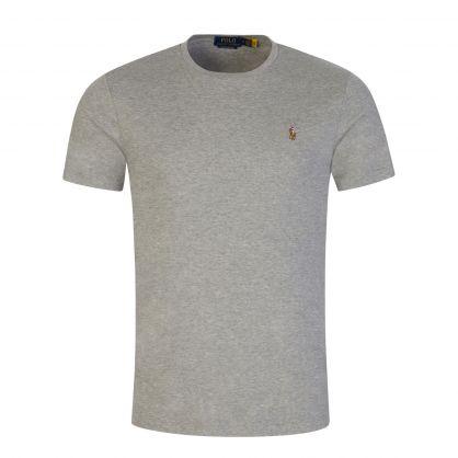 Grey Pima T-Shirt