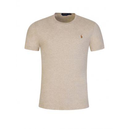 Beige Soft Touch T-Shirt