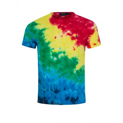 Custom Slim Fit Tie-Dye T-Shirt