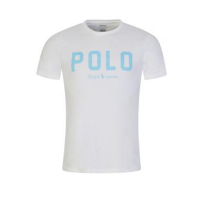 White Polo Script T-Shirt