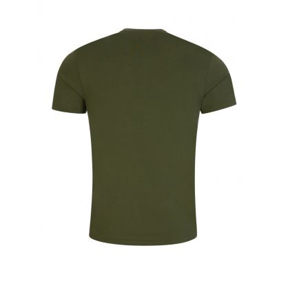 Green Custom Slim Fit Crewneck T-Shirt
