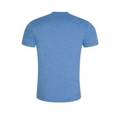 Blue Soft Pima Cotton T-Shirt