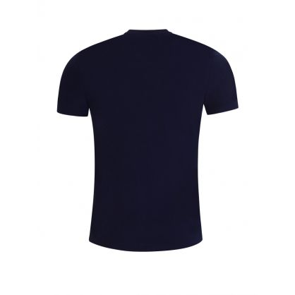 Dark Navy Custom Slim-Fit Polo Bear T-Shirt