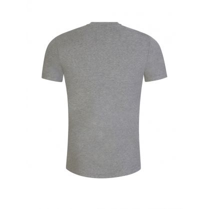 Grey Custom Slim-Fit Polo Bear T-Shirt