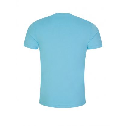 Turquoise Custom Slim Fit T-Shirt