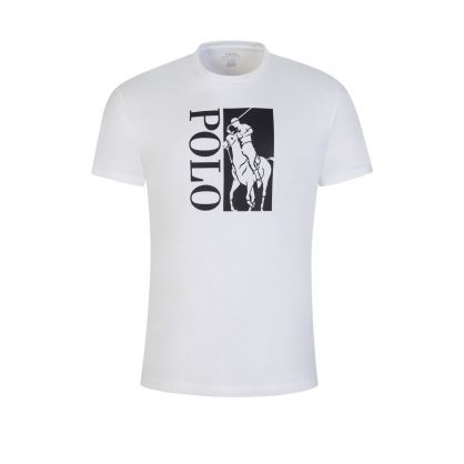 White Polo Jersey T-Shirt