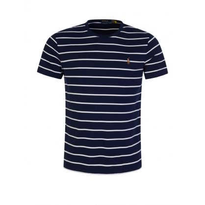 Navy Striped T-Shirt