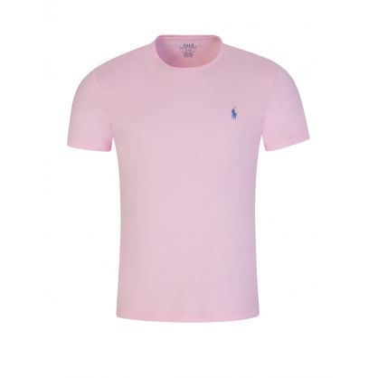 Pink Jersey Cotton T-Shirt