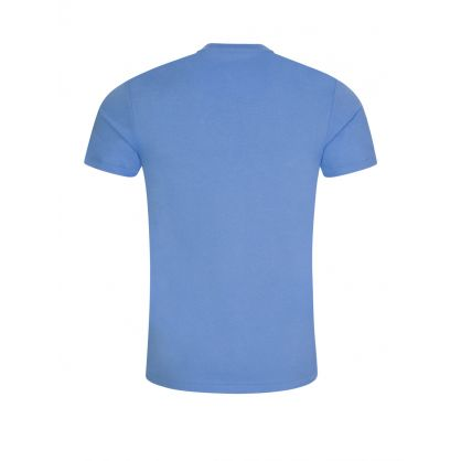 Blue Jersey Cotton T-Shirt