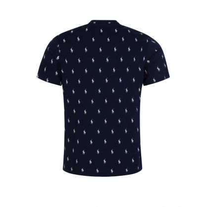 Navy Signature Pony T-Shirt
