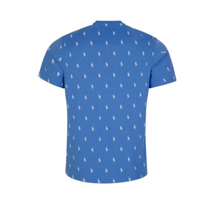 Blue Signature Pony T-Shirt