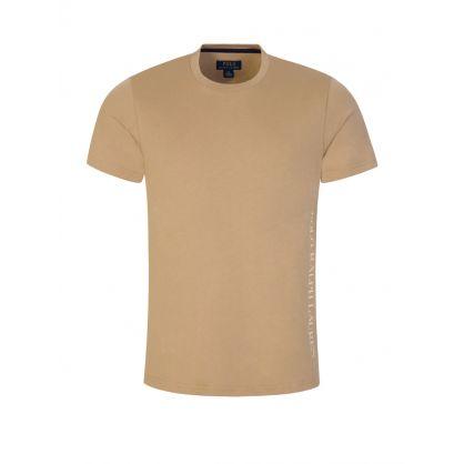 Khaki Lounge Jersey T-Shirt