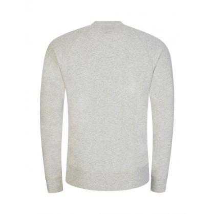 Grey Cotton Lounge Sweatshirt