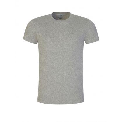 White/Grey/Black 3pk Cotton T-Shirts