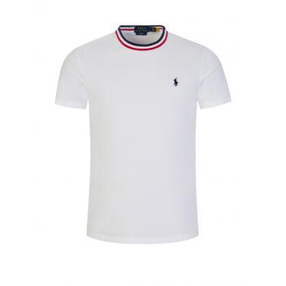 White Tipped T-Shirt