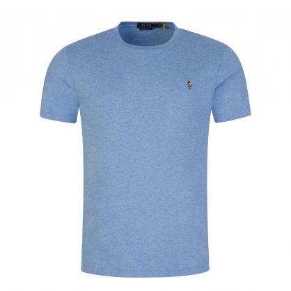Blue Custom Slim Fit Pima T-Shirt