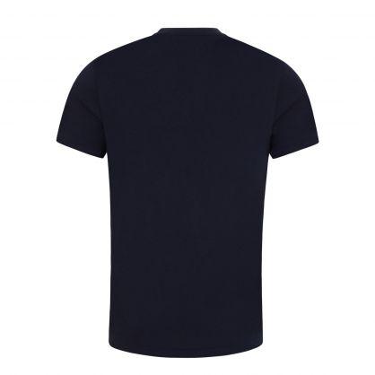 Navy Custom Slim Fit Jersey T-Shirt