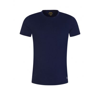 Navy/Grey/White Classic Cotton T-Shirt 3-Pack