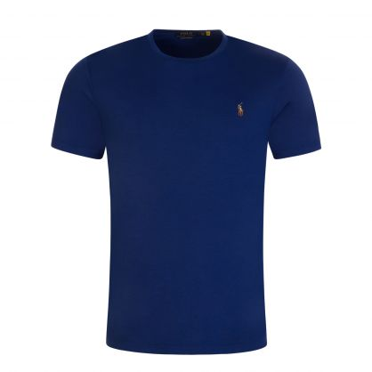 Blue Custom Slim Fit T-Shirt