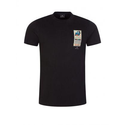 Black Slim-Fit Matchbook T-Shirt
