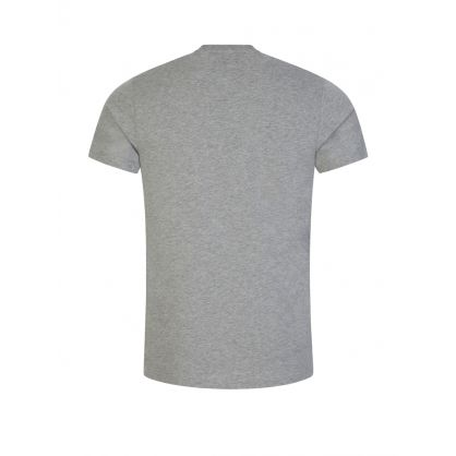 Grey 'Stamp Collection' Print T-Shirt