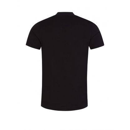 Black 'Arcade' Print T-Shirt