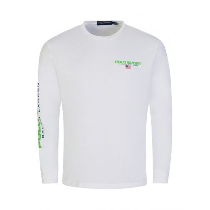 Polo Sport White Jersey T-Shirt