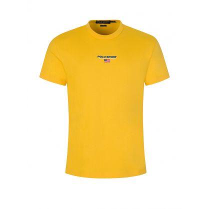 Yellow Cotton Jersey T-Shirt