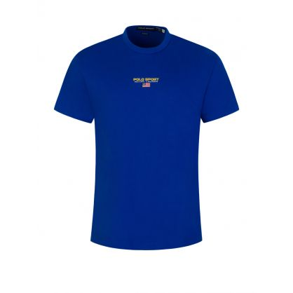 Blue POLO Sport Jersey T-Shirt