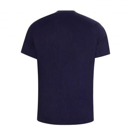 Navy Cotton Jersey T-Shirt