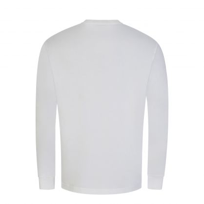 White Classic Fit Jersey T-Shirt