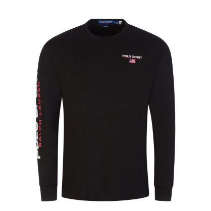Black Cotton Jersey T-Shirt