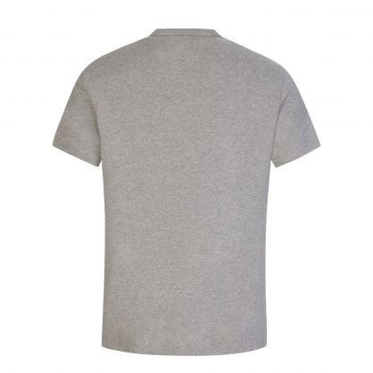 Grey Cotton Jersey T-Shirt