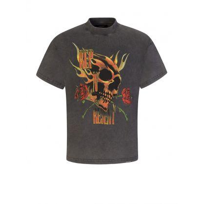 Grey Rep N Resent T-Shirt