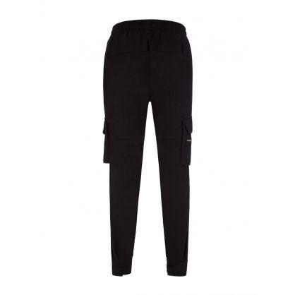Black Military Track Pants
