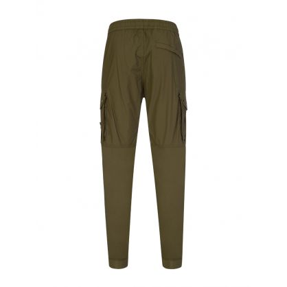 Dark Green Cargo Trousers