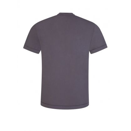 Blue Grey Patch T-Shirt