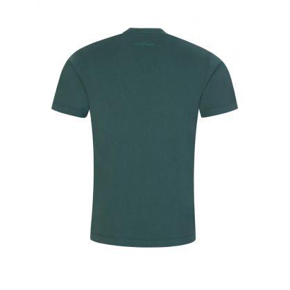 Green 'Block One' T-Shirt
