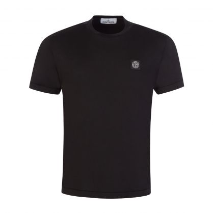 Black Garment Dyed Cotton T-Shirt