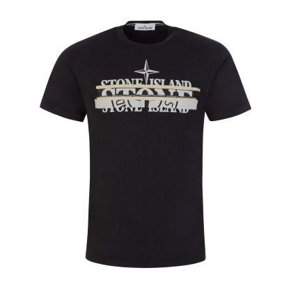 Black Disjointed Logo T-Shirt