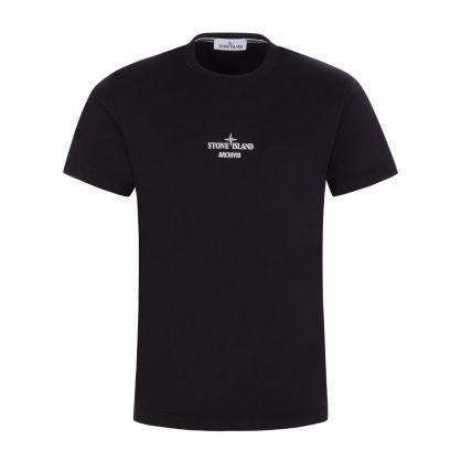 Black Archivio Project T-Shirt