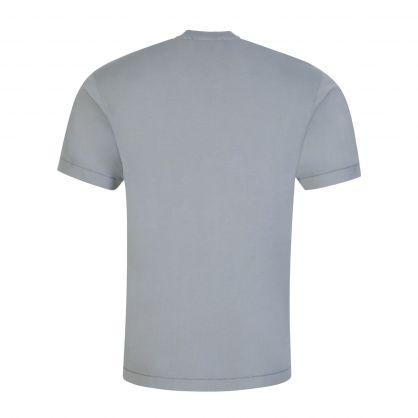 Grey Garment Dyed Cotton T-Shirt