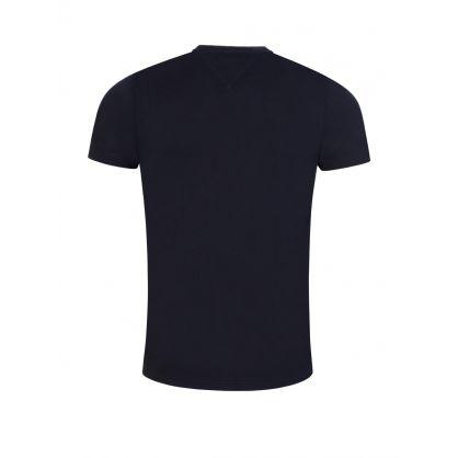 Navy Cool Fade T-Shirt