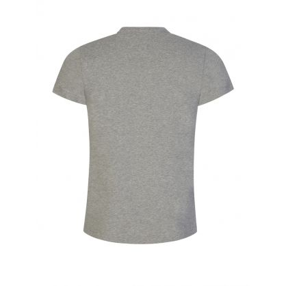 Light Grey Slim-Fit Stretch T-Shirt
