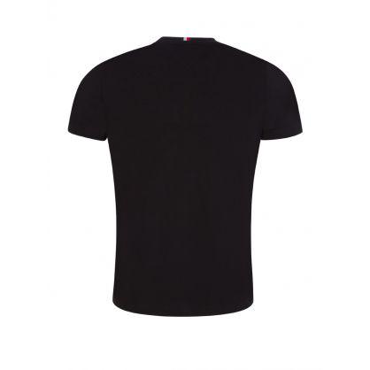 Black Sleeve Tape T-Shirt