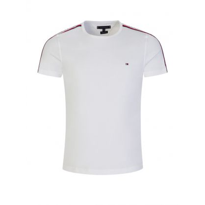 White Logo Tape T-Shirt